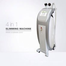 4in1 cavitation+RF+laser+vacuum velashape body shaping machine