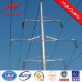 30pi galvanisé électrique alimentation poteau d'acier