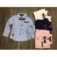 chemise de bébé de mode des enfants / chemise d'enfants de style européen et coréen