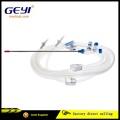 CE-zertifiziertes laparoskopisches Einweg-Plastik-Edelstahl-Saug- und Bewässerungsrohr