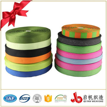Fashion design wedding flower wrapping colorful printing logo ribbon