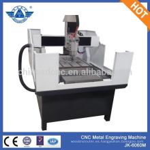 Nueva máquina JK - 6060M máquina de grabado cnc adecuada para grabar letras en metal