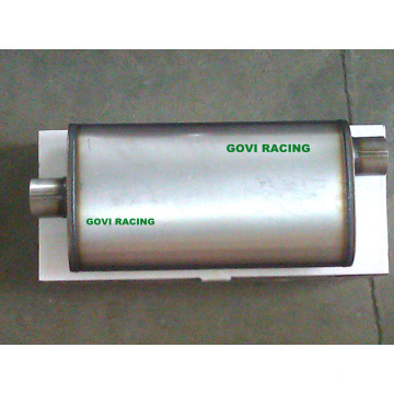 5′′x11′′ Oval Car Exhaust Muffler 3′′ Center /3′′ Offset Universal for Truck