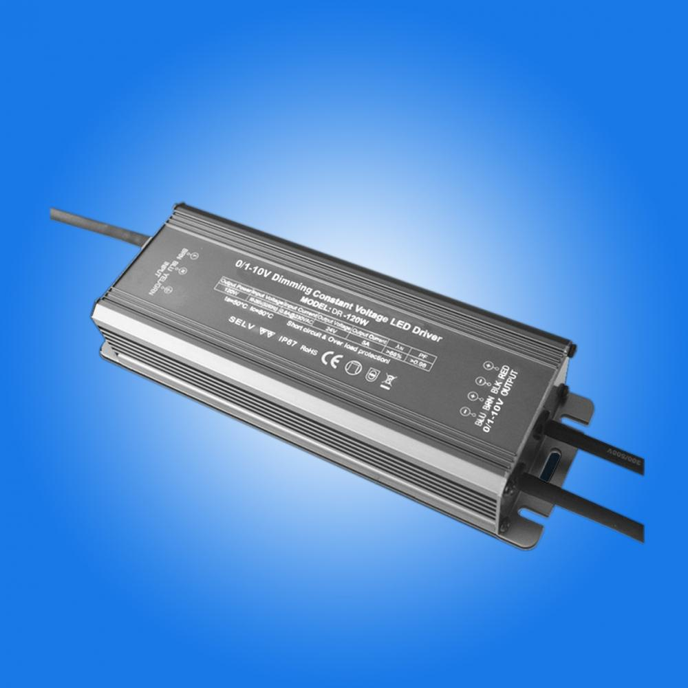 0-10v dimmable led driver 24v 120w