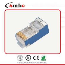 Conector s6c s6c da cat6a rj45