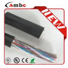 Подземный Multi Pair cat5e utp 25 парный кабель связи с заполненным гелем