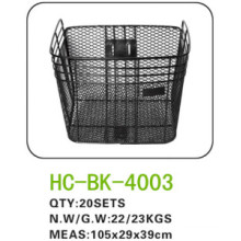 Factory Supply Black Steel Wire Bicycle Basket, Bicycle Front Basket, Basket for Folding Bicycle LC-B015