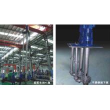 Pompe en acier inoxydable manche longue Vertical des eaux usées eau centrifuge