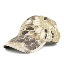 Serpentine Magic Tape Baseball Hat Python Skin Camo Baseball Cap