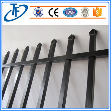 2018 powder coated garrison tubular fence
