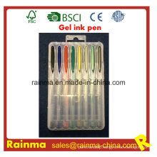 Multicolor Gel Pens for Use of Office and School