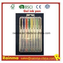 Canetas Gel Multicolor para Uso de Escritório e Escola