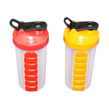 2016 Brand New 700ml Blender Shaker Bottle with Pill Boxes