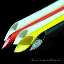 Epoxy-Rohr-Silikon beschichtete Fiberglas-Hülsen-Optikschläuche für Draht