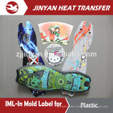 Hot Sale Plastic Injection In Mold Label