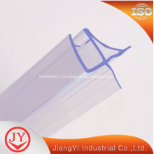 Calidad de material de PVC vidrio puerta de ducha sello