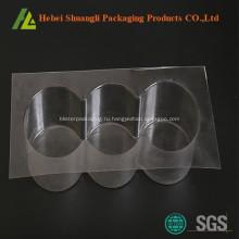 Ясные изготовленные на заказ пластичные коробки хлебопекарни