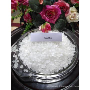 prix de cire de bougie Top Vente Paraffine Wax Semi-Refined 56 #