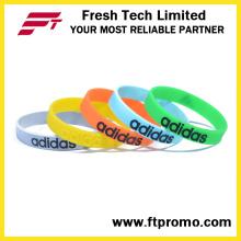 Pulseira de silicone silicone pulseira de silicone