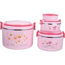2845 Hot Selling Plastic Isolation Thermique Lunch Box