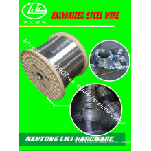 Alambre de acero galvanizado (0.30mm-6.30mm)