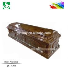 JS-A958 luxury affordable caskets factory