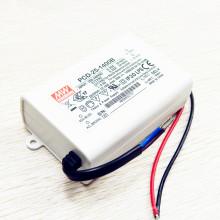 Fonte de alimentação PFC PCD-25-1400B do diodo emissor de luz de Dimmable da CA da corrente constante de 25W 1400mA