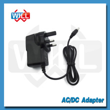 BS 2pin Adaptador de corriente montado en la pared UK 12v