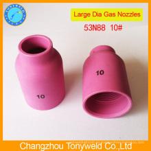 53N88 boquilla de cerámica para la antorcha de soldadura tig