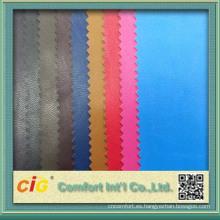 0,4 mm de colores de cuero sintético Prendas de vestir de cuero sintético