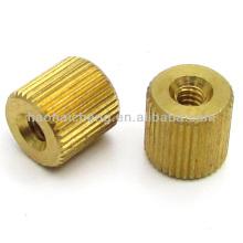 Pernos del barril de cobre amarillo o sujetador de buje fabricante de China