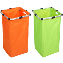 600d Modern Double Aluminum Laundry Basket (SP-322)