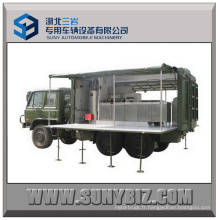 6X6 Truck Dongfeng Off-Road Self-Prepelled Kitchen Portable Portable Cantine