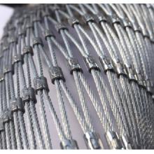 Malha de cabo de aço inoxidável