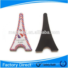 Transparency Eiffel Tower shape tourist gift epoxy fridge magnets
