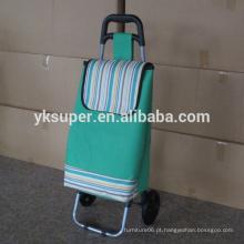 Venda Por Atacado saco de carrinho de compras dobrável com rodas