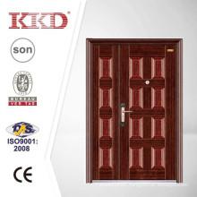 China Manufaturer One and Half Security Steel Door KKD-311B