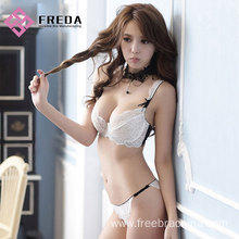 Best Price on for Jersey Bra Sets fashion ladies bra and panty sets supply to Spain Factories