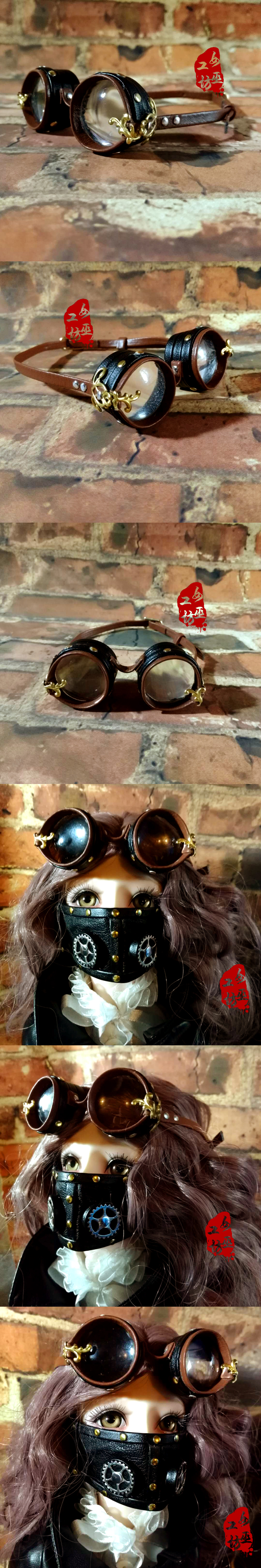 BJD Decorations Goggles Glasses Eyes Protector
