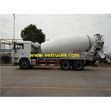 SHACMAN 10 Wheel 12m3 Concrete Mixer Trucks