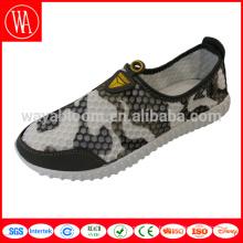 Chaussures mocassins en maille pour hommes