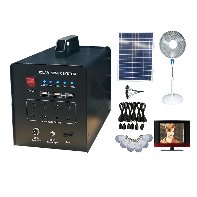 off-grid solar lighting system