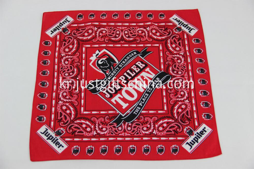 100% Cotton Bandanas - Sublimation Printing 55x55CM