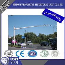 Galvanized CCTV Camera Pole