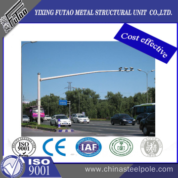 Galvanized Steel Traffic Sign Pole