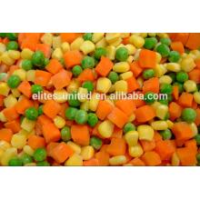 Le légume mélangé aux légumes congelés IQF de la meilleure qualité