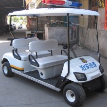 ODM for 2 Seats Electric Utility Vehicle 4seats patrol golf cart/police golf cart export to Guadeloupe Manufacturers