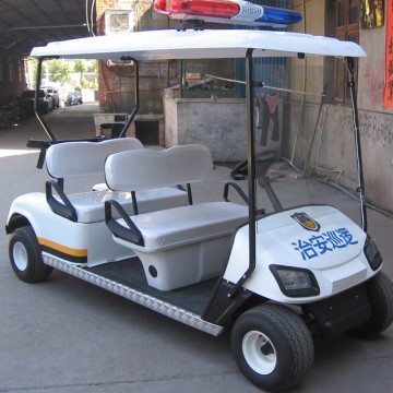 300CC gas powered police golf cart with EPA