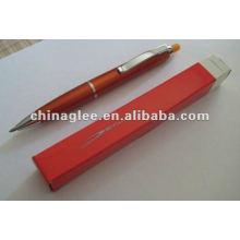 stylo à bille avec gomme