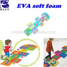 2015 Hot selling EVA hopscotch puzzle mat For Kids Eva jigsaw puzzle
